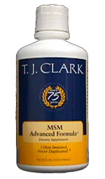 T. J. Clark�s Liquid MSM Advanced Formula